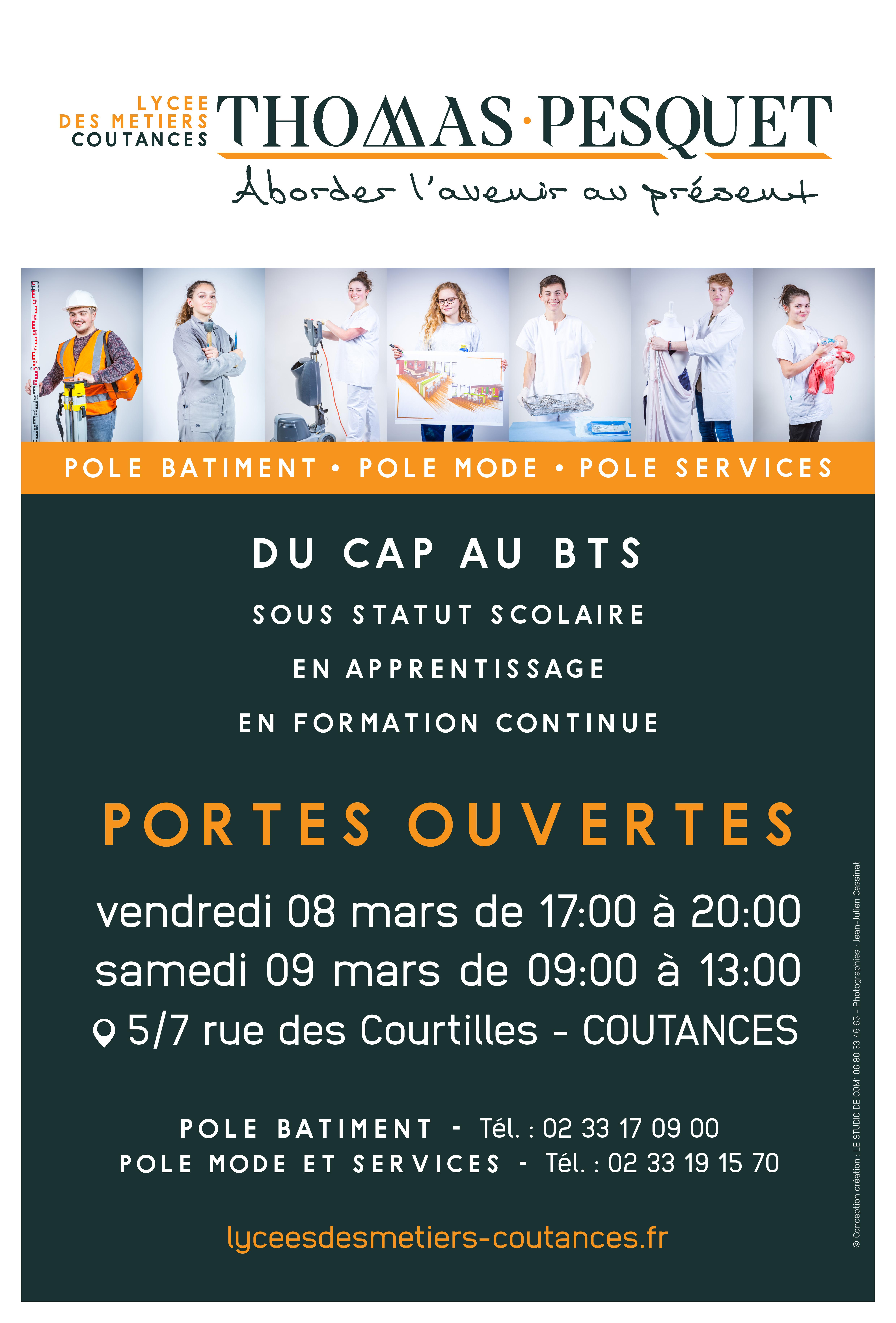 Portes Ouvertes Au Lycée Lycées Des Métiers Coutances